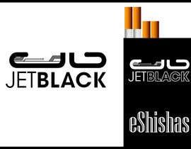nº 91 pour Design a Logo for JetBlack eShishas par adityajoshi37