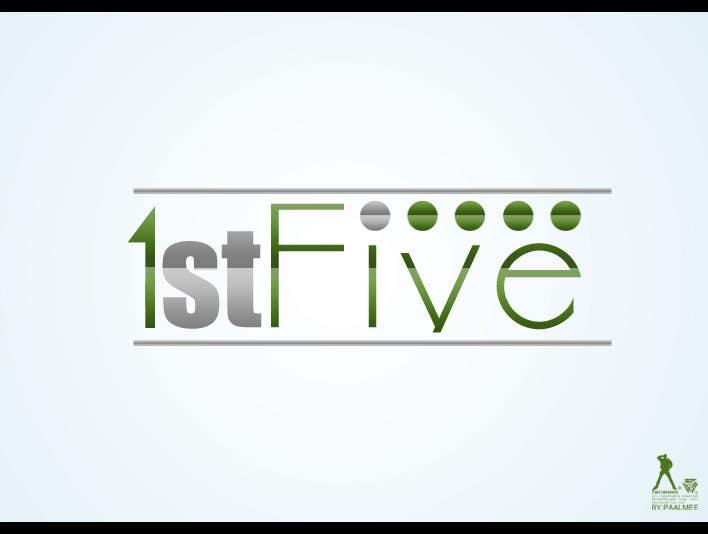 Participación en el concurso Nro.192 para Logo Design for 1stFive
