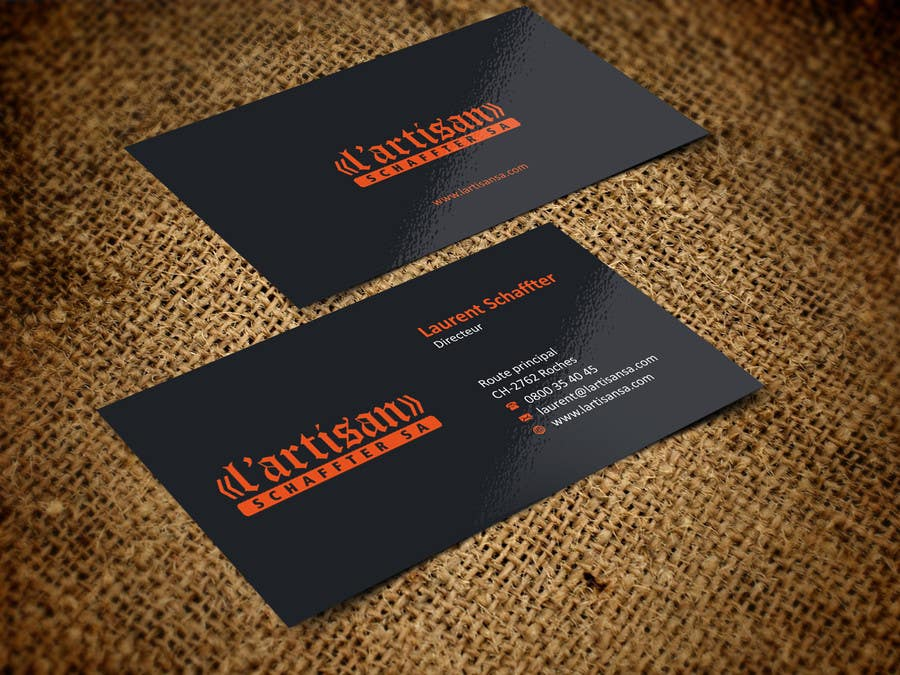 Entry 9 by ezesol for design some business cards for my company contest entry 9 for design some business cards for my company color orange reheart Images