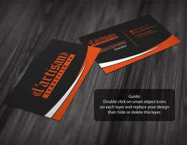 #14 cho Design some Business Cards for my company, color Orange/Black bởi regionmym
