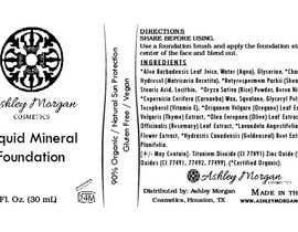 Nro 20 kilpailuun Create a Cosmetic Label for my Liquid Mineral Foundation käyttäjältä lounzep