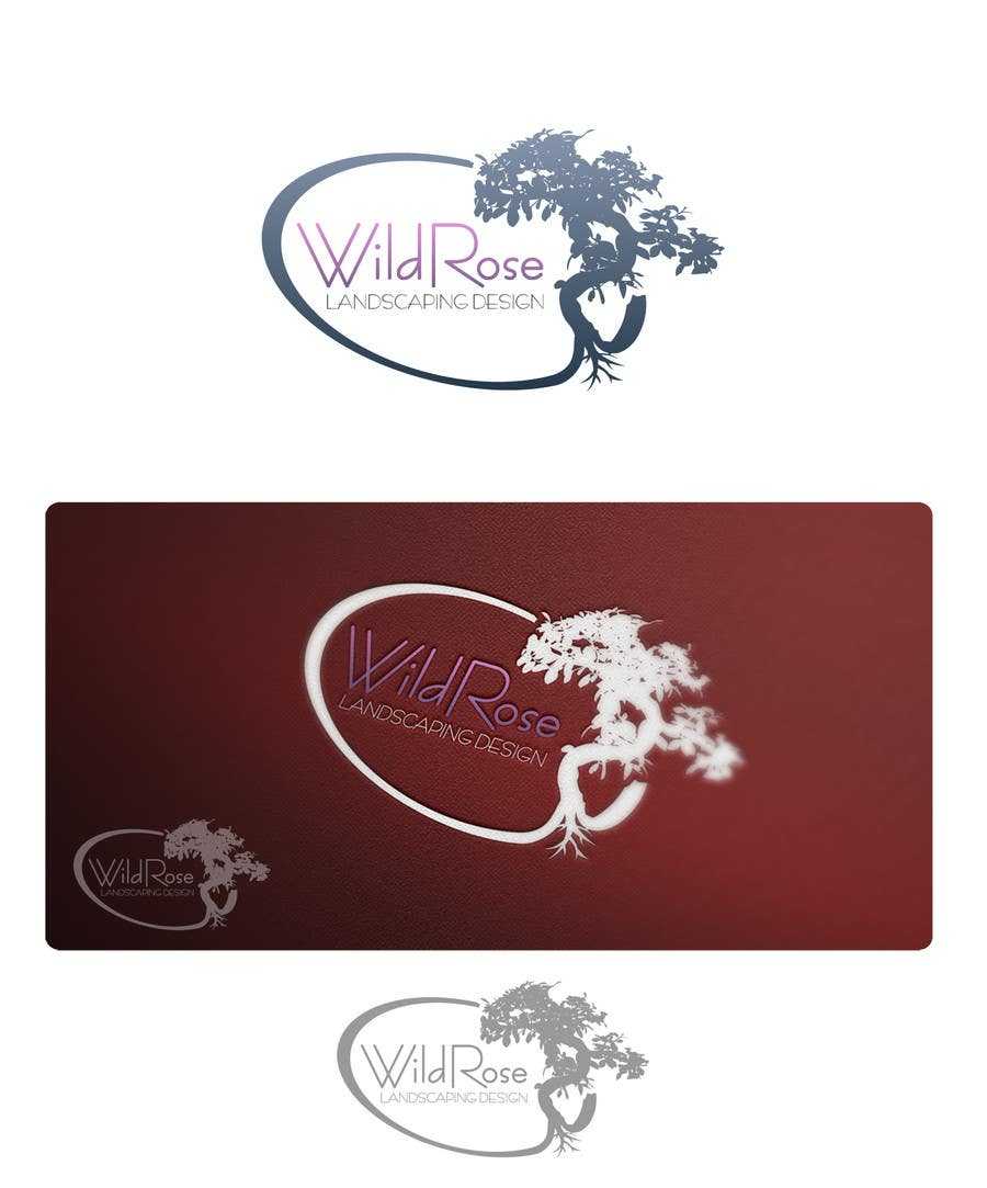 Contest Entry #18 for WildRose Landscaping Logo Design Contest