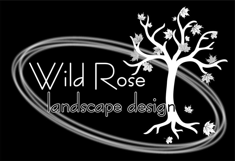 Contest Entry #10 for WildRose Landscaping Logo Design Contest
