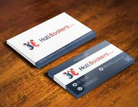 Nro 81 kilpailuun Design some Business Cards for hallbookers.co.uk käyttäjältä pointlesspixels