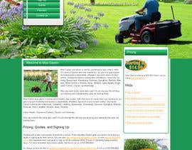 #3 for Build a Website for Mow Dayton by webidea12