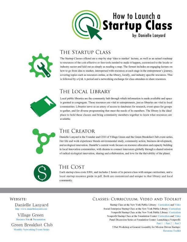 Kilpailutyö #42 kilpailussa Design a Proposal brochure for a new class to be offered