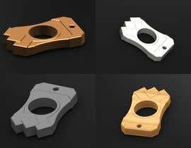 Nro 24 kilpailuun Simple 3d design and modeling - DXF Extrusion or STL FILE - Single Finger Knuck käyttäjältä terstill