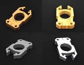 Nro 25 kilpailuun Simple 3d design and modeling - DXF Extrusion or STL FILE - Single Finger Knuck käyttäjältä terstill