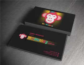 #12 untuk Design Business Cards for Mr. Monkey oleh dalizon