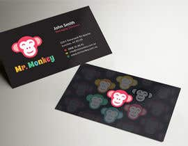#18 untuk Design Business Cards for Mr. Monkey oleh ezesol