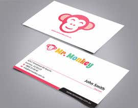 #22 para Design Business Cards for Mr. Monkey por ezesol