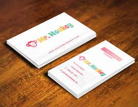 nº 15 pour Design Business Cards for Mr. Monkey par pointlesspixels