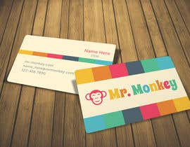#9 para Design Business Cards for Mr. Monkey por HerlinaTan