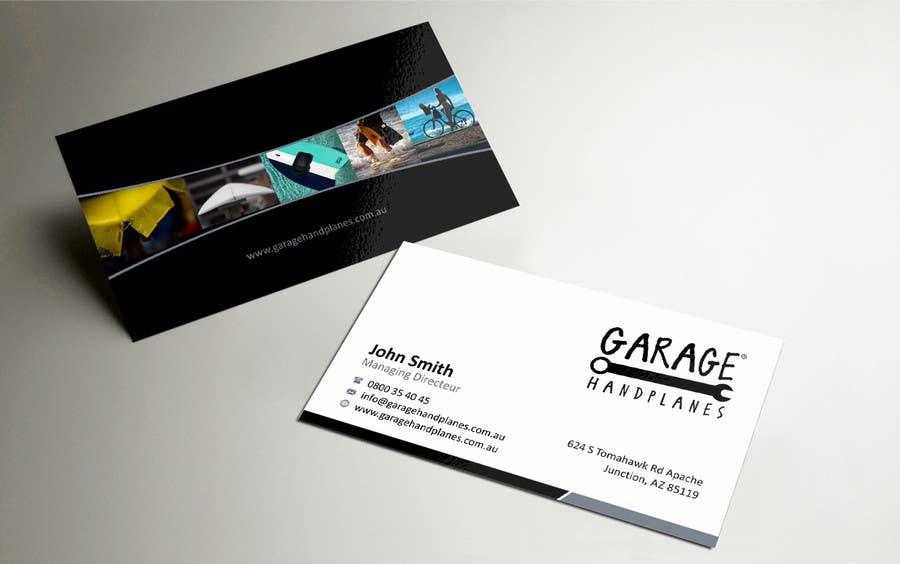 Bài tham dự cuộc thi #34 cho Design some Business Cards for Garage Handplanes