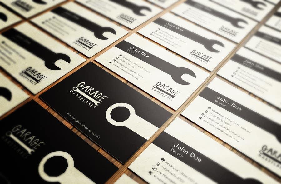 Bài tham dự cuộc thi #32 cho Design some Business Cards for Garage Handplanes