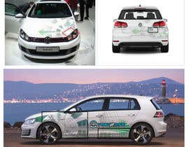 #10 for Sticker concept for Tuned2Race - vehicle wrap design by ConceptFactory