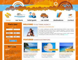 #14 untuk LAYOUT FOR  ONLINE TRAVEL AGENCY oleh rshalder90