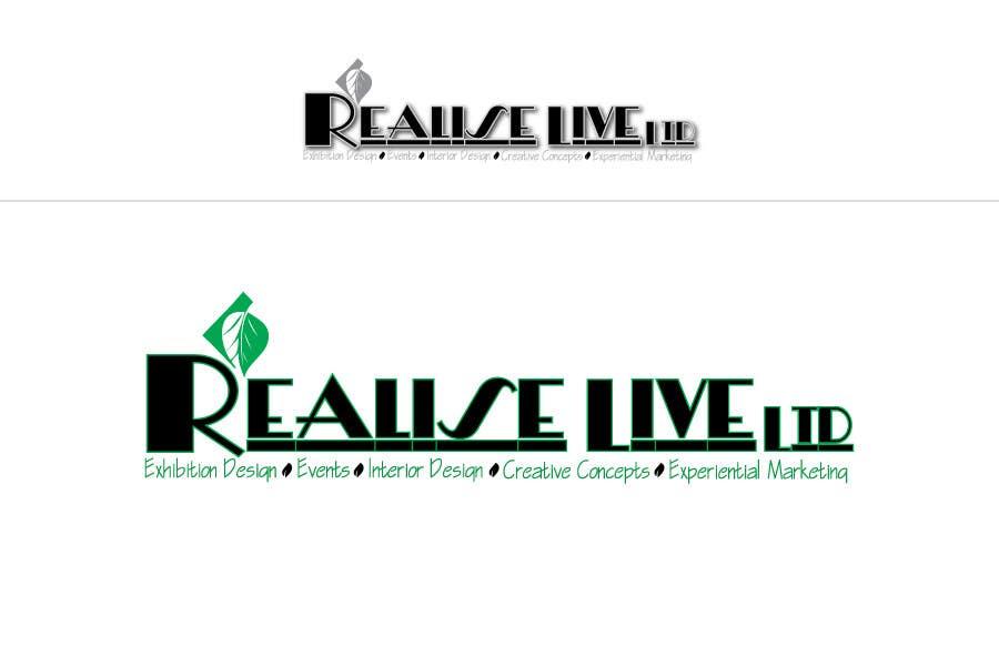 Inscrição nº 312 do Concurso para Logo Design for Realise Live Ltd - Design & Production Agency