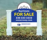 Contest Entry #19 for Ownersway real estate yard sign