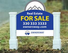 #19 for Ownersway real estate yard sign af NamalPriyakantha
