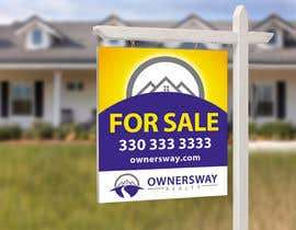 #34 for Ownersway real estate yard sign af NamalPriyakantha