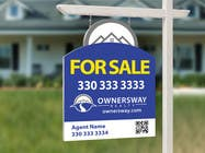 Contest Entry #41 for Ownersway real estate yard sign