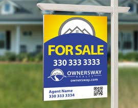 #42 for Ownersway real estate yard sign by NamalPriyakantha