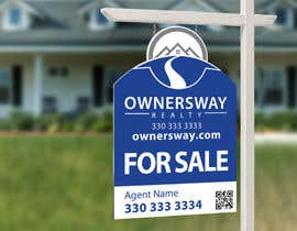 #45 for Ownersway real estate yard sign by NamalPriyakantha