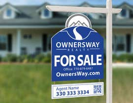 #52 for Ownersway real estate yard sign af NamalPriyakantha