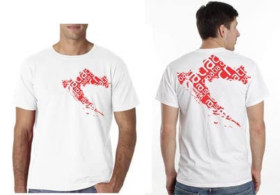 #42 para Design a Croatian fan T-shirt por eltorozzz
