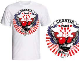 #45 para Design a Croatian fan T-shirt por japinligata