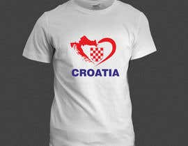 #14 para Design a Croatian fan T-shirt por adstyling
