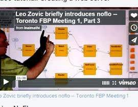 noornada tarafından Find a Flash or Javascript library for interactive node-linking diagrams için no 45