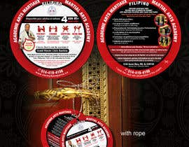 #12 cho Design a door hanger/brochure for a Filipino Martial Arts dojo in Montreal bởi alifwood