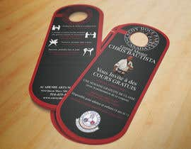 #16 para Design a door hanger/brochure for a Filipino Martial Arts dojo in Montreal por rmissin