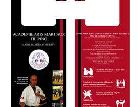 #18 para Design a door hanger/brochure for a Filipino Martial Arts dojo in Montreal por CCARIUSE
