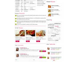#9 for Recipe Website by ProliSoft