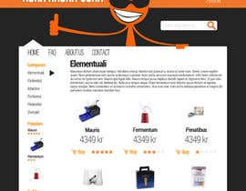 #14 for Design a Website Mockup for Magento e-shop by barlon
