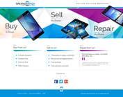 Graphic Design Kilpailutyö #13 kilpailuun Design a Website Mockup for a Mobile Device Company