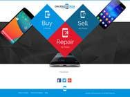 Graphic Design Kilpailutyö #72 kilpailuun Design a Website Mockup for a Mobile Device Company