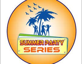 nº 8 pour Summer Party Series Logo par rgbmamun