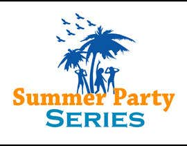 nº 9 pour Summer Party Series Logo par rgbmamun