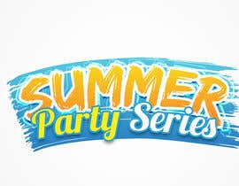 nº 14 pour Summer Party Series Logo par nepsguy