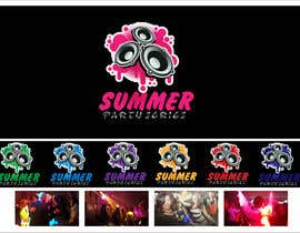 nº 11 pour Summer Party Series Logo par shazdesigner786