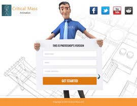 #4 for Design a Landing Page + Form - repost af phamtech211