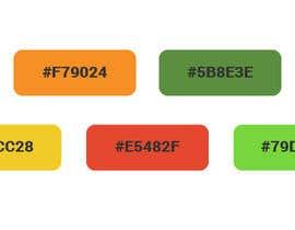 Nro 14 kilpailuun Create color pallet for our brand käyttäjältä MantasKl