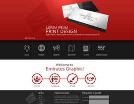 #5 cho Design a Home Page Mockup for my current website bởi joseyde01