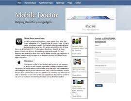 nº 42 pour Website needed for cell phone repair shop par avinashvatsya
