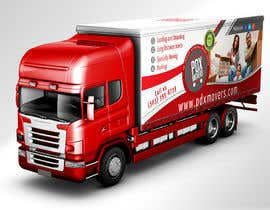 nº 37 pour Box Truck Wrap Design par mentorsh