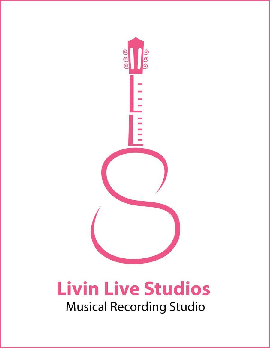 Bài tham dự cuộc thi #                                        20                                      cho                                         Design a Logo for LivinLIveStudios Musical Recording Studio